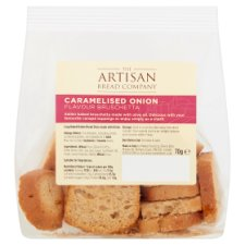 Artisan Bread Co Caramelised Onion Bruschetta 70 G