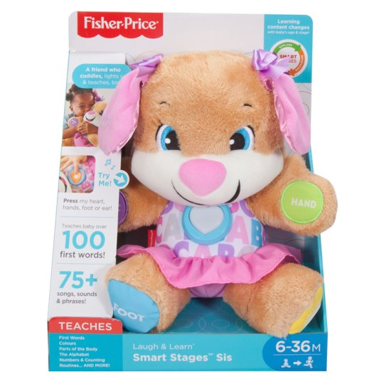 Fisher Price Smart Stages Puppy Sister