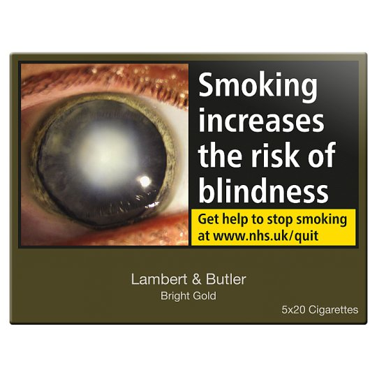 Lambert And Butler Gold King Size 100 Pack