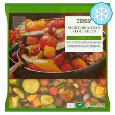 Tesco Mediterranean Chargrilled Vegetable 700G