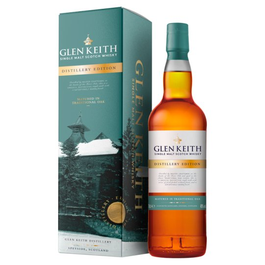 Glen Keith Single Malt Scotch Whisky 70Cl