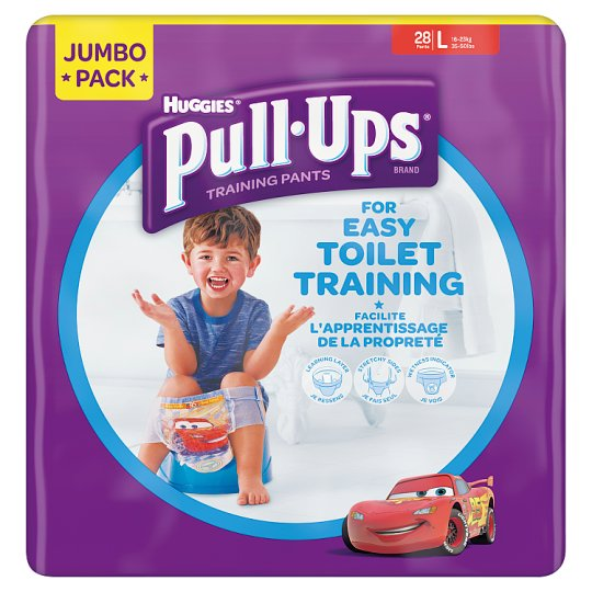 Huggies Pull Ups Boys Large 28 Pack