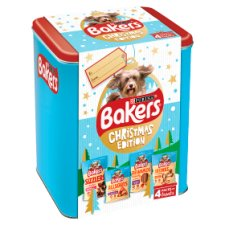Bakers Treats Christmas Tin 412G