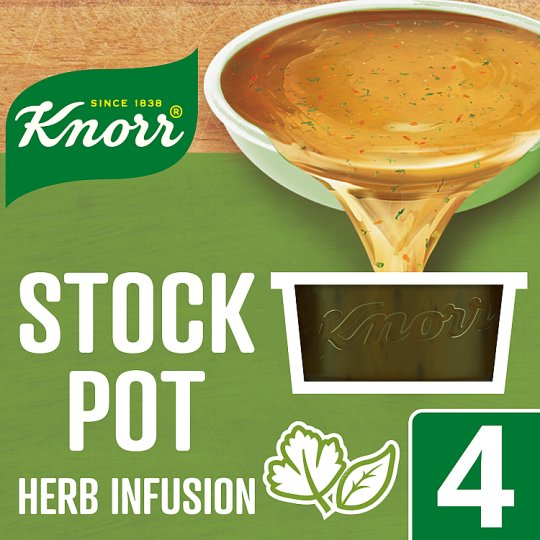 Knorr Herb Infusion Stock Pot 4 X 28G