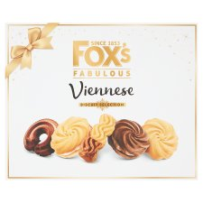 Fox's Fabulous Viennese Biscuit Selection 350G