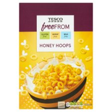 Tesco Free From Honey Hoops 300G
