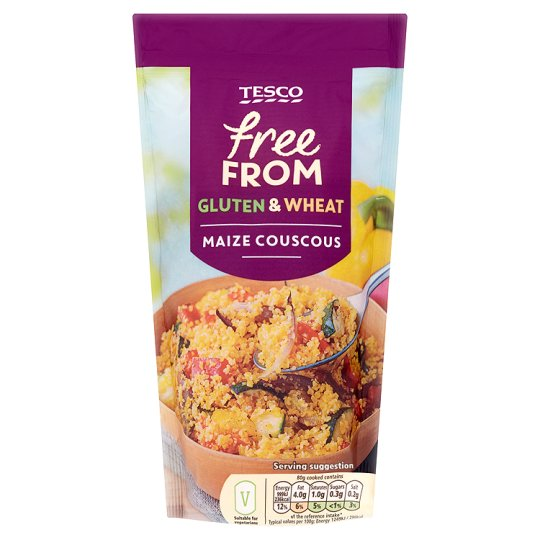 Tesco Free From Maize Couscous 330G