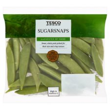 Tesco Sugar Snap Peas 150G