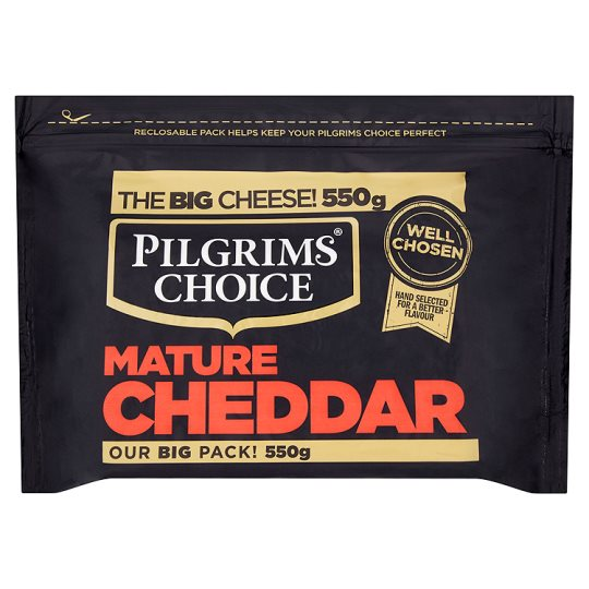 Pilgrims Choice Mature Cheddar 550G
