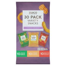 Tesco Mixed Snacks 30 Pack 530G