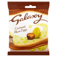 image 1 of Galaxy Caramel Mini Eggs 84G