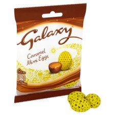 image 2 of Galaxy Caramel Mini Eggs 84G