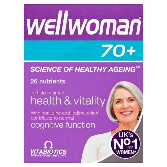 Vitabiotics Wellwoman 70+ Tablets X30