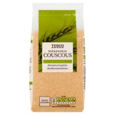 Tesco Wholefoods Whole Wheat Cous Cous 500G