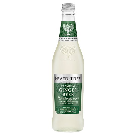 Fever-Tree Naturally Light Ginger Beer 500Ml