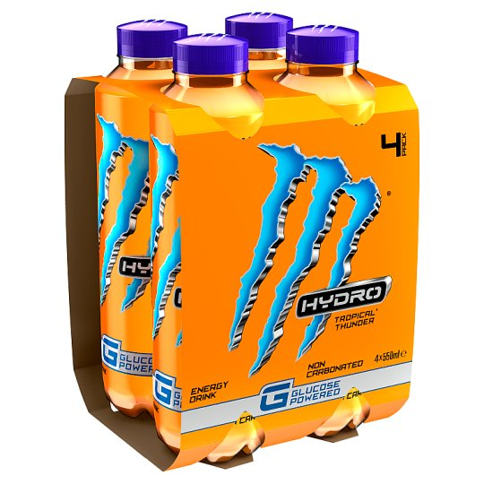 image 1 of Monster Hydro Tropical 4X550ml