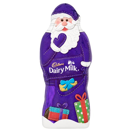 Cadbury Dairy Milk Hollow Santa 50G