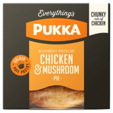 Pukka Pies Chicken And Mushroom Pie 229G