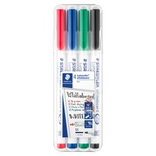 Staedtler Thin Whiteboard Markers 4 Pack