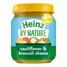 Heinz Cauliflower And Broccoli Cheese Jar 120G