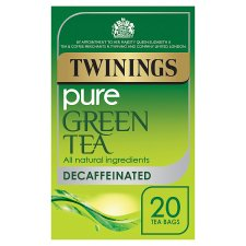 Twinings Green Tea Decaffeinated 20 Tea Bags 40G