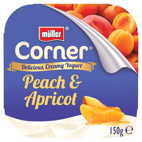 Muller Corner Peach And Apricot Yogurt 150G