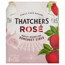 Thatchers Apple Rose Cider 4X440ml Can