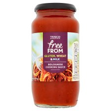 Tesco Free From Bolognese Sauce 500G