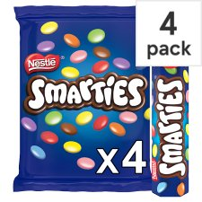 image 1 of Smarties 4 Pack 152G