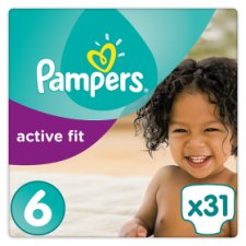 Pampers Active Fit Size 6 Essential Pack 31 Nappies