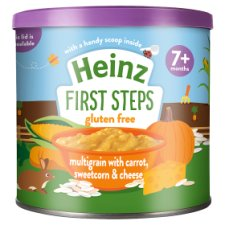 Heinz First Steps Multigrain Carrot Sweetcorn Cheese 200G