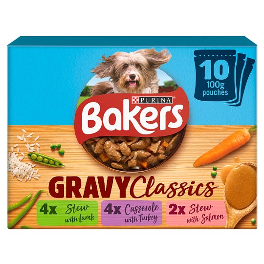 image 1 of Bakers Hmclasscs Multi Pack Lamb Trky Smn 10X100g