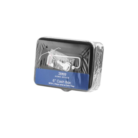 Tesco 6 Inch Cash Box