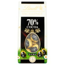image 1 of Lindt Excellence 70% Dark Chocolate Mini Egg Carton 90G