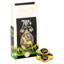 image 2 of Lindt Excellence 70% Dark Chocolate Mini Egg Carton 90G