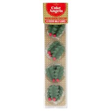 Cake Angel Holly 2D Decorations 6G - Groceries - Tesco ...