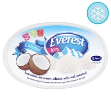 Everest Ices Coconut Ice Cream 1 Litre