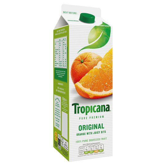 Tropicana Orange Juice Original 1 Litre