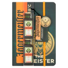 Jagermeister And Journal 2X2cl Gift Set