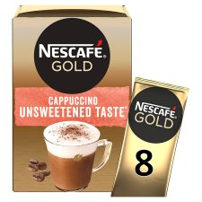 Nescafe Gold Cappuccino Unsweetened Coffee 8S 113.6G