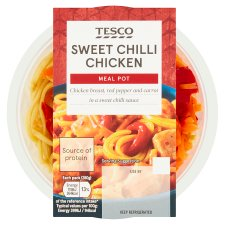 Tesco Snack Pot Sweet Chilli Chicken Noodles 280G
