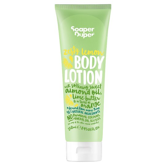 Soaper Duper Zesty Lemon Body Lotion 250Ml
