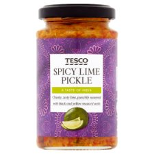 Tesco Spicy Lime Pickle 200G