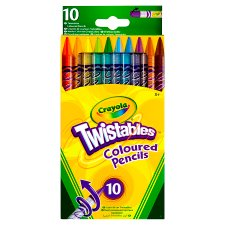 Crayola Twistable Pencils 10 Pack