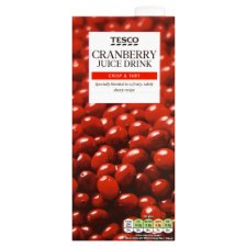 Tesco Cranberry Juice Drink 1 Litre
