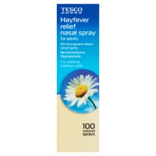 Tesco Hayfever And Allergy Relief 100 Dose