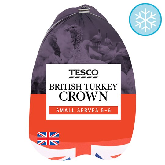 Tesco Frozen Small Crown 1.5Kg - 1.9Kg