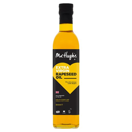 Mr Hugh's Extra Virgin Pressed Rapeseed Oil 250Ml