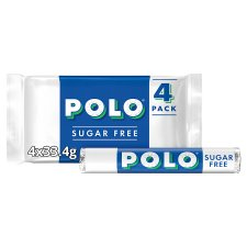 image 1 of Polo Sugar Free Tube Multipack 4 X 33.4G