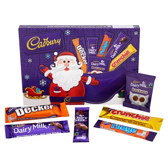 Cadbury Medium Selection Box Snowman 180G